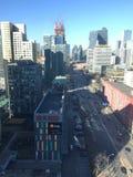 Landscape of modern city Royalty Free Stock Photography
