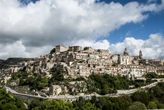 Landscape of Modica Stock Photography