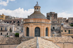 Landscape of Modica, Sicily, Italy Royalty Free Stock Images