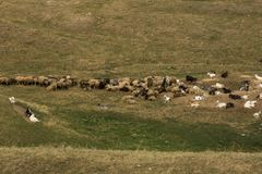 Landscape in Moldova stock image