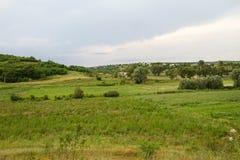 Landscape of Moldova, summer landscape Royalty Free Stock Photo