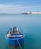 Landscape of Molfetta seaport. Apulia. Stock Photo