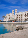Landscape of Molfetta Seaport. Apulia. Stock Image