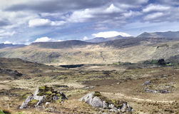 Landscape of Moll's Gap in Ireland Stock Photography