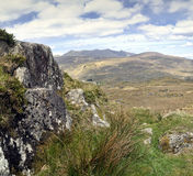 Landscape of Moll's Gap in Ireland Stock Photo