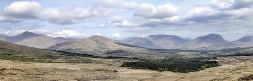 Landscape of Moll's Gap in Ireland Stock Photos