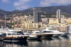 Landscape of Monaco Royalty Free Stock Photography