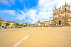 Alcobaca Monastery Portugal stock photos