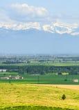 Landscape of Monferrato (Italy) Stock Photography