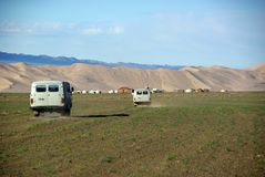 Landscape in Mongolia Stock Photography