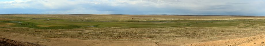 Landscape in Mongolia Royalty Free Stock Images