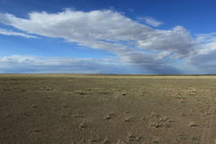 Landscape in Mongolia Royalty Free Stock Photo