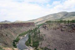 landscape mongolianen arkivfoton