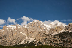 Landscape  MONTAIN CORTINA Stock Photography