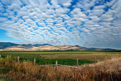 Landscape in Montana. (Big Sky Country Royalty Free Stock Image