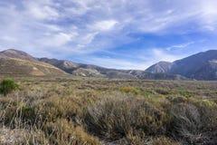 Landscape in Montana e Oro State Park, California stock image