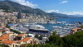 Landscape. Monte-Carlo. Royalty Free Stock Image