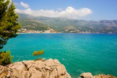 Landscape of Montenegro Royalty Free Stock Photos