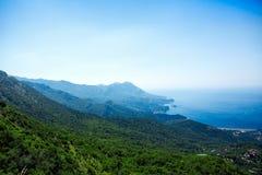 Landscape of Montenegro coast Stock Images