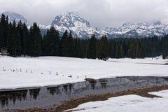 Landscape in Montenegro Stock Images