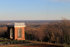 Landscape at Monticello Stock Image