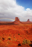 The landscape of Monument Valley Royalty Free Stock Photography
