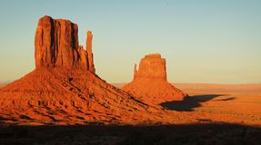 Landscape at Monument Valley Stock Images