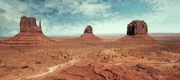 Landscape at Monument Valley Stock Photos