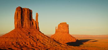 Landscape at Monument Valley Royalty Free Stock Image