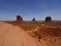 Landscape in Monument Valley, Utah, USA. Lovely landscape in Monument Valley in Utah, USA Stock Photography
