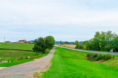 Landscape in the Morvan Mountains Stock Image