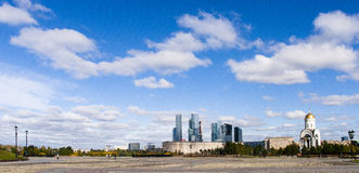 The landscape in moscow Royalty Free Stock Photography