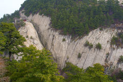 Landscape of Mount Hua Royalty Free Stock Photography