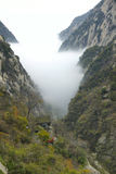 Landscape of Mount Hua Stock Images