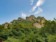 Landscape of Mount Myogi Stock Images