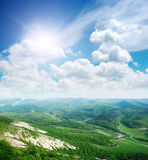 Landscape in mountain Stock Photos