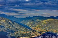 Landscape mountain Stock Photography