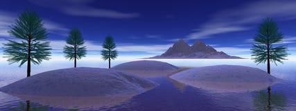 Landscape mountain Stock Image