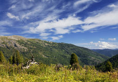Landscape of the Mountain Altai, Siberia Stock Images