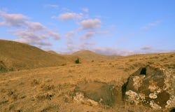 Landscape of mountain desert Royalty Free Stock Image