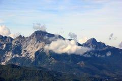 Landscape with a mountain Stock Photos