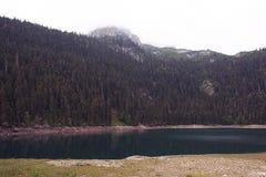 Landscape mountain lake Stock Image