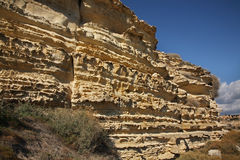 Landscape. Mountain near Kourion. Cyprus Stock Image