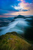 Landscape of mountain (Pha Tang hill) in Thailand. Royalty Free Stock Photography