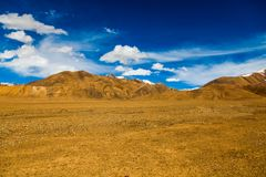 Landscape of mountain on Qinghai Plateau,China. royalty free stock photos