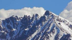 Landscape Of Mountain On Qinghai Plateau,china. stock footage