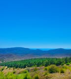 Landscape mountain valley Stock Photography