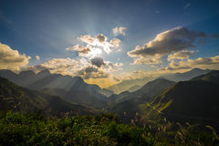 Landscape mountain view Royalty Free Stock Image