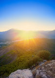 Landscape in the mountains Royalty Free Stock Photos
