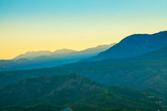 Landscape in the mountains Royalty Free Stock Images